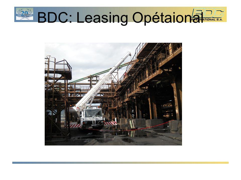 BDC: Leasing Opétaional