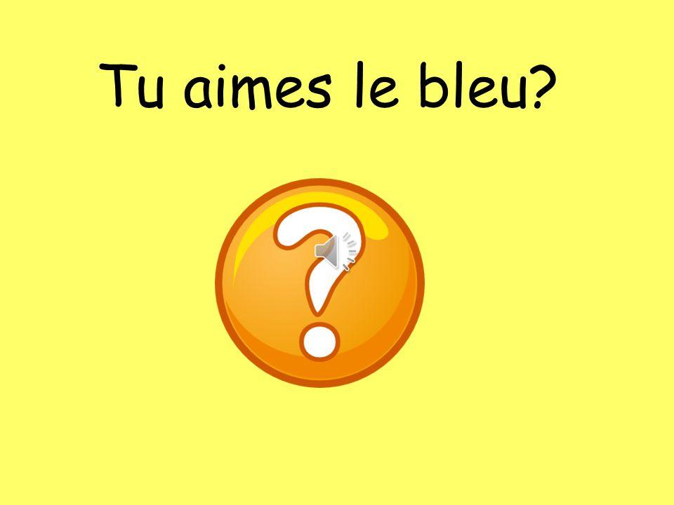 Tu aimes quelles couleurs?