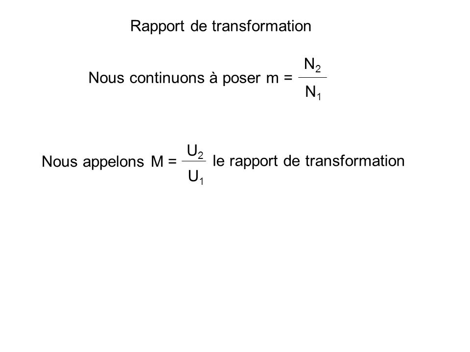Pour que l on puisse coupler à vide 2 transfos triphasés, il faut que leurs diagrammes vectoriels coïncident Même rapport de transformation Même ordre