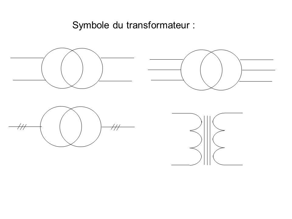 But du transformateur : Afin de transporter l énergie électrique avec le moins de pertes possible. GS 3 380 V 380/6 kV élévateur 6 kV /380 V abaisseur