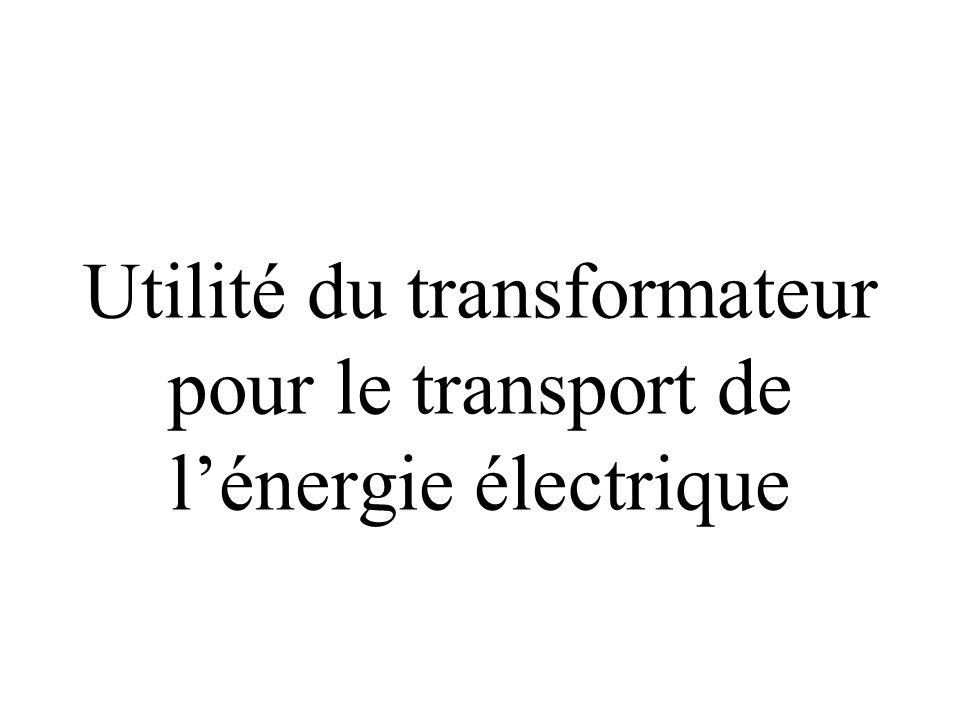 Symbole du transformateur :