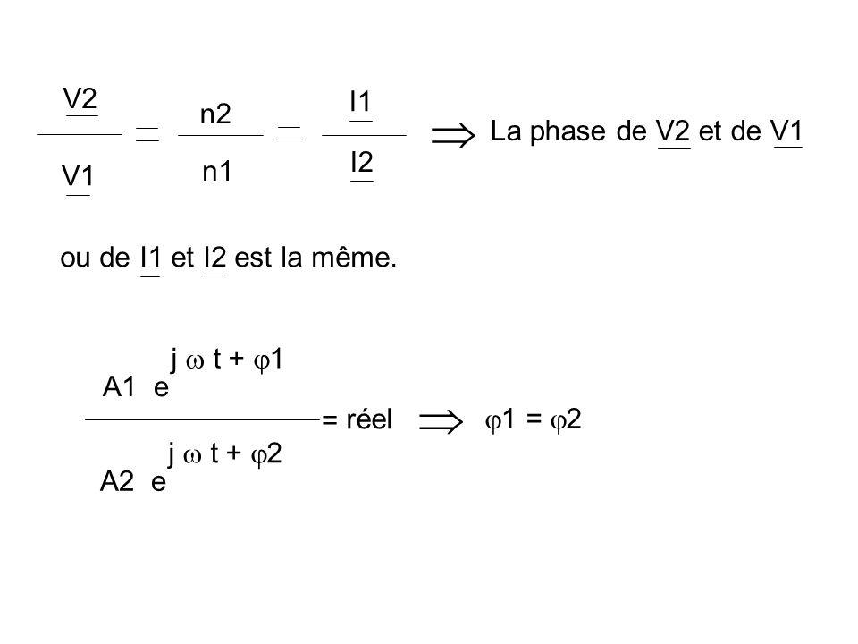 Pour une même d.d.p., à 60 Hz l intensité passe moins longtemps dans la bobine primaire au cours dune demi période quen 50 Hz, B atteint une valeur moins importante en 60 Hz quen 50 Hz.