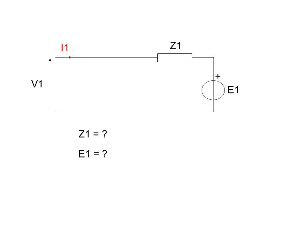 Impédance ramenée du secondaire au primaire ou réciproquement V1 I1 V2 I2 Z2 E2 + Question posée : Quel est le modèle de Thévenin sur lequel débite le primaire n1 n2