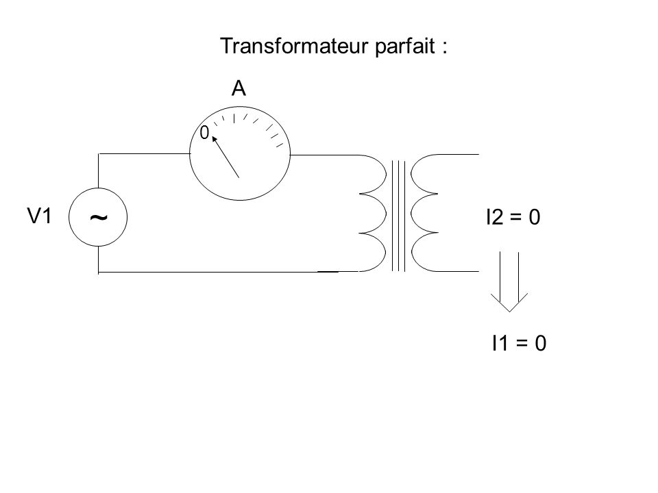 ~ 4 8 .Le transfo est tel que vu du primaire, la charge apparaisse comme valant 4.