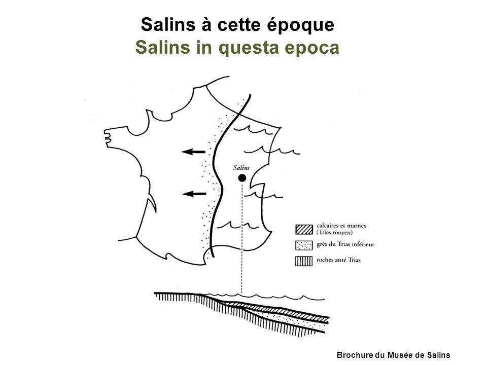 Salins à cette époque Salins in questa epoca Brochure du Musée de Salins