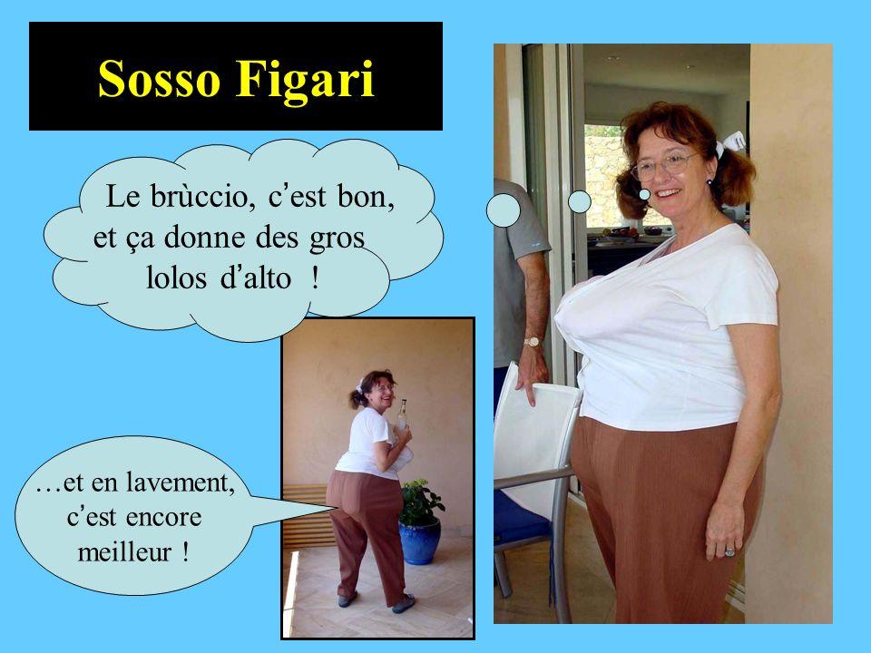 Sosso Figari …et en lavement, c est encore meilleur ! Le brùccio, c est bon, et ça donne des gros lolos d alto !