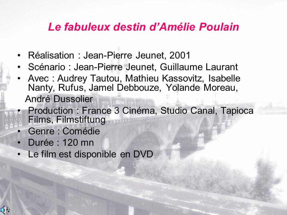 Raymond Dufayel Nino Quicampoix Raphael Poulain, le père Brasserie Montmartre LUOGHI E PERSONAGGI DEL FILM
