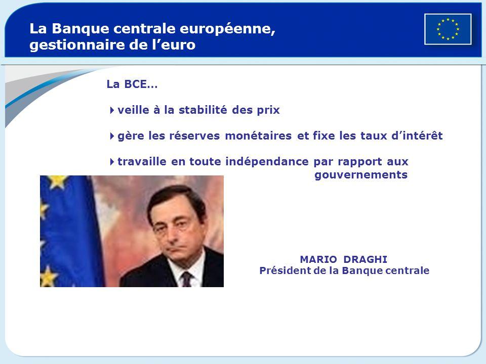 La Cour des comptes de lUnion européenne veille au bon usage du budget communautaire 27 membres indépendants Contrôle la légitimité des dépenses des i
