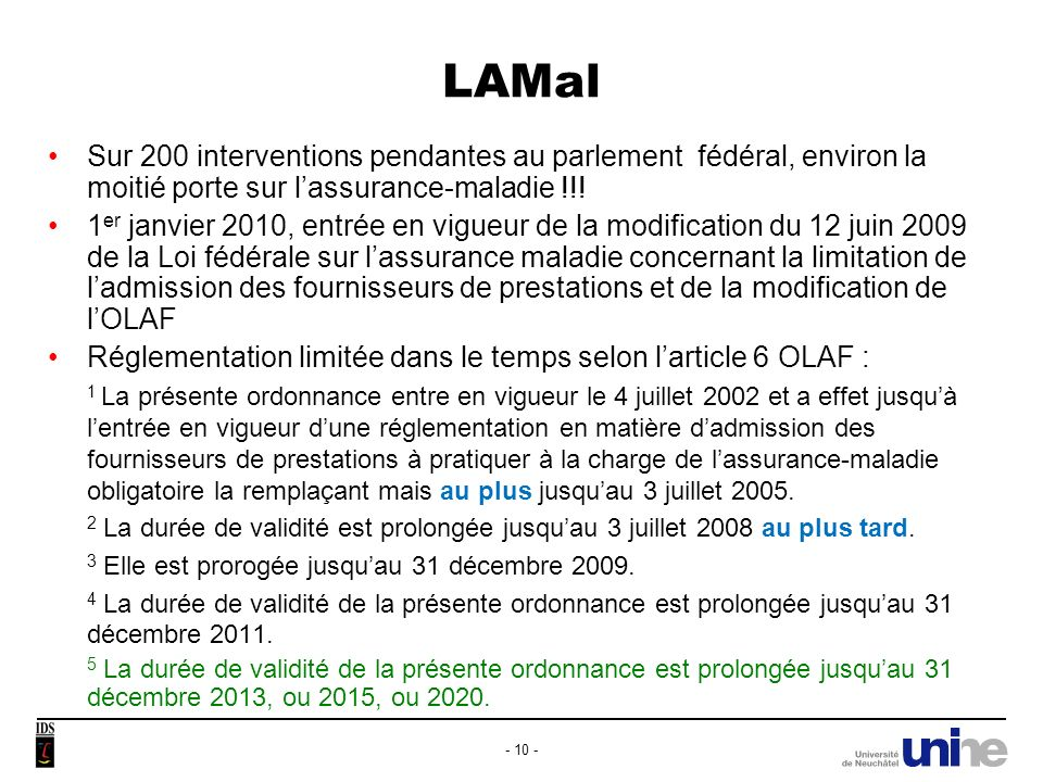 LAMal Gel des admissions avait été contesté par des médecins.