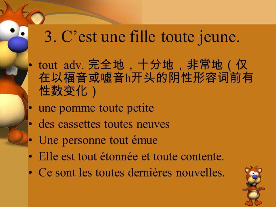 9.daprès loc.prép. Daprès lui, il faut bien apprendre le français.