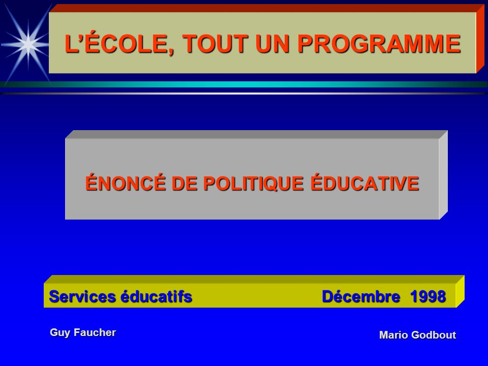 Accompagner chacun dans son cheminement scolaire.