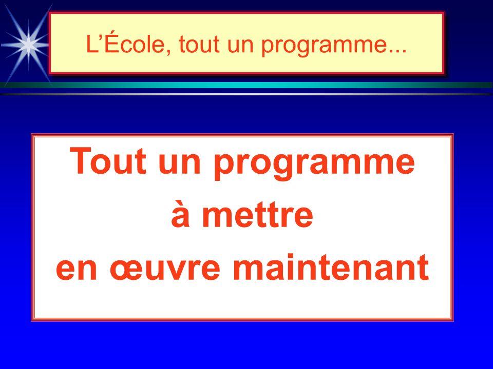 Suivi et évaluation de la réforme... è Calendrier d'implantation : ò début : primaire (1999-2000) : secondaire (2002-2003) ò fin: primaire (2002 - 200