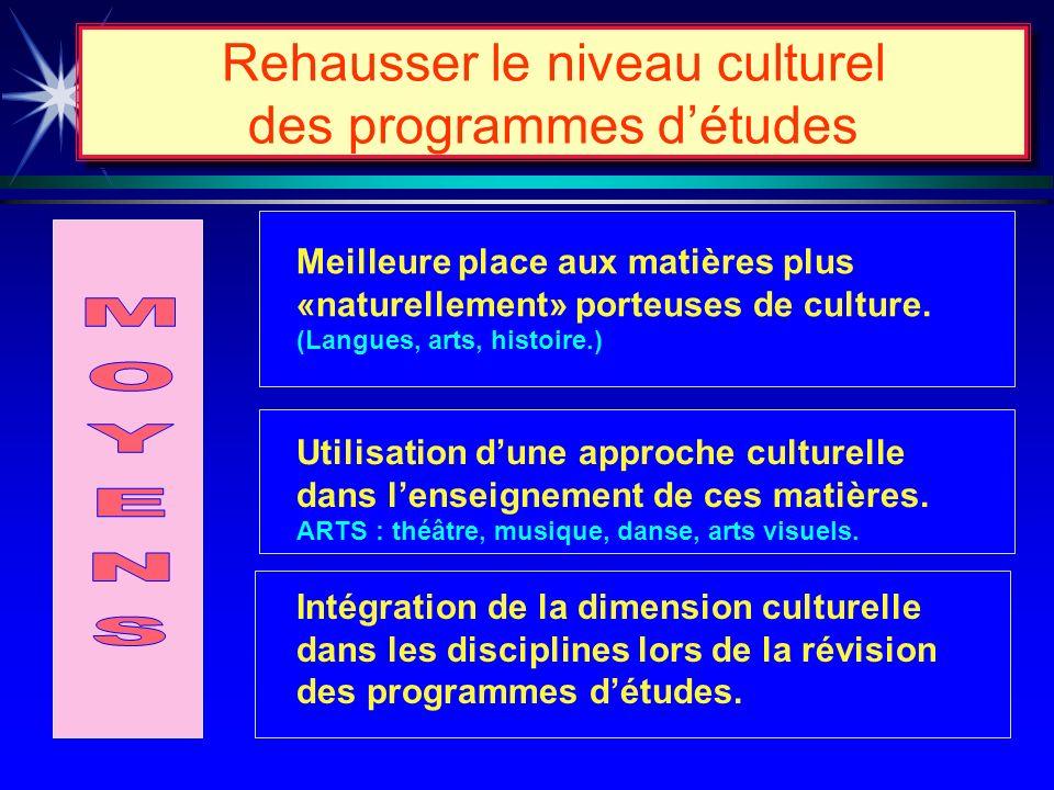 Mettre laccent sur lessentiel APPRENTISSAGES ESSENTIELS maîtrise de la langue maternelle; maîtrise de la langue seconde; maîtrise des éléments princip