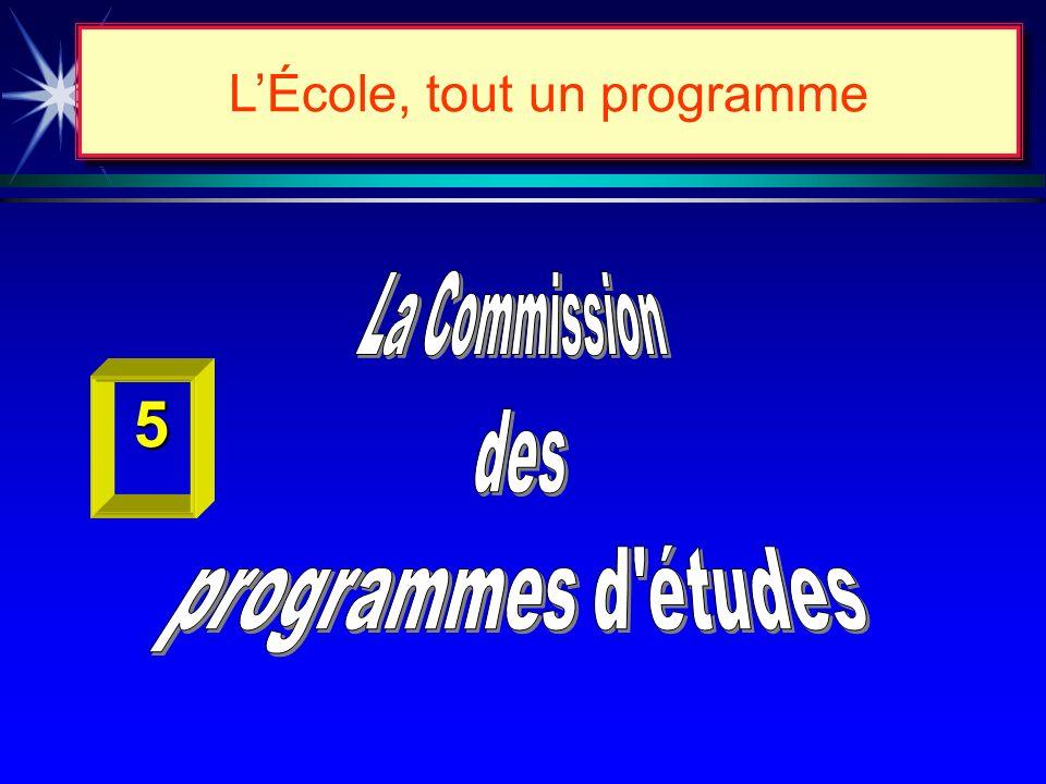 Chapitre II LES CHANGEMENTS AU CURRICULUM 1. LENVIRONNEMENT ÉDUCATIF RECHERCHÉ. 2. LE PROGRAMME DE FORMATION. 3. LORGANISATION DE LENSEIGNEMENT À LÉCO