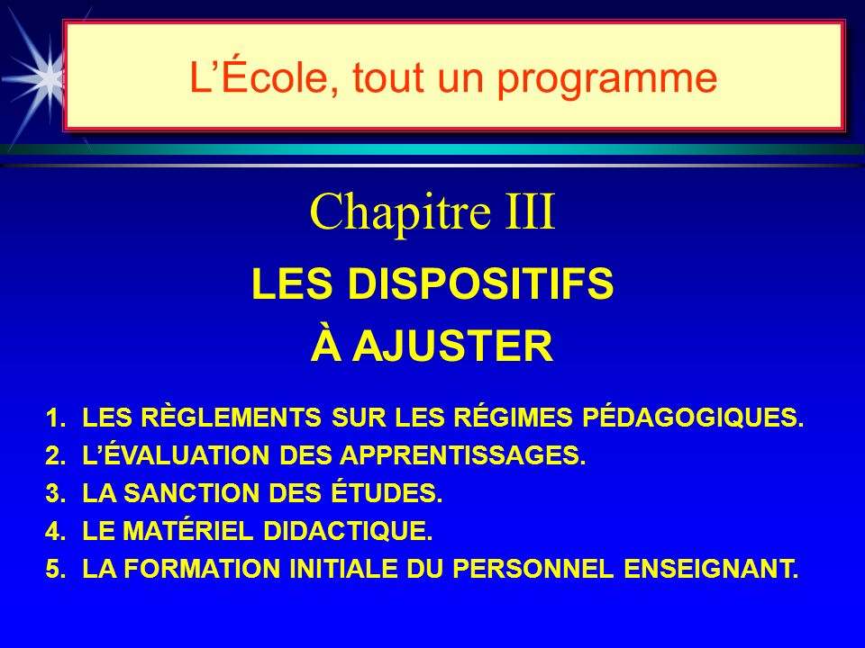 La Commission des programmes détudes Sa composition...