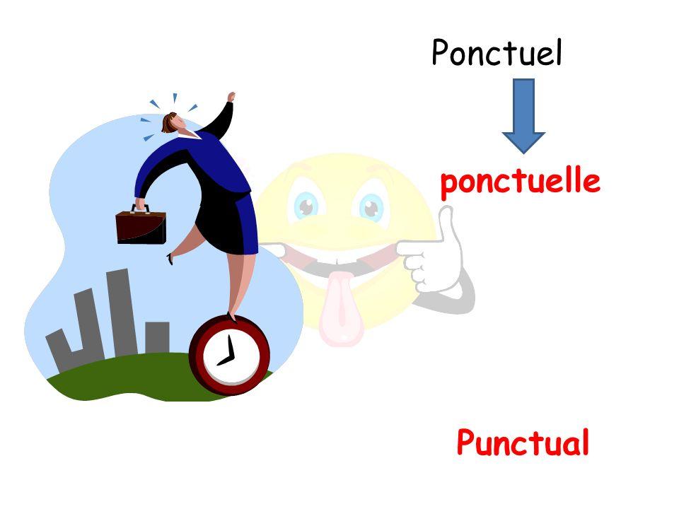 Punctual ponctuelle Ponctuel