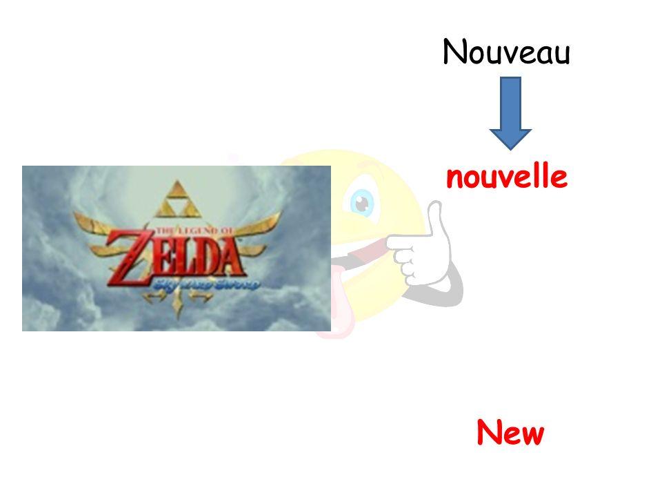 New nouvelle Nouveau