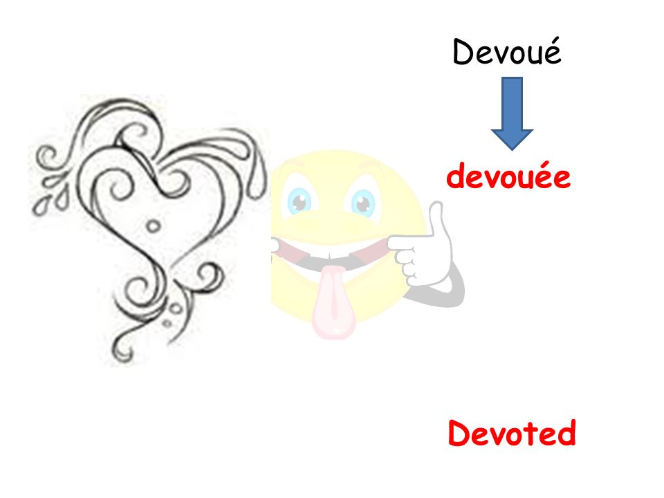 Devoted devouée Devoué
