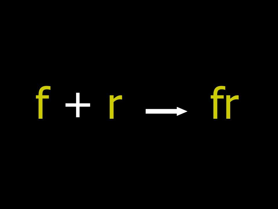 f + rf + rfr