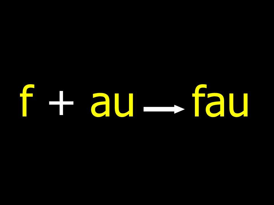 f + aufau