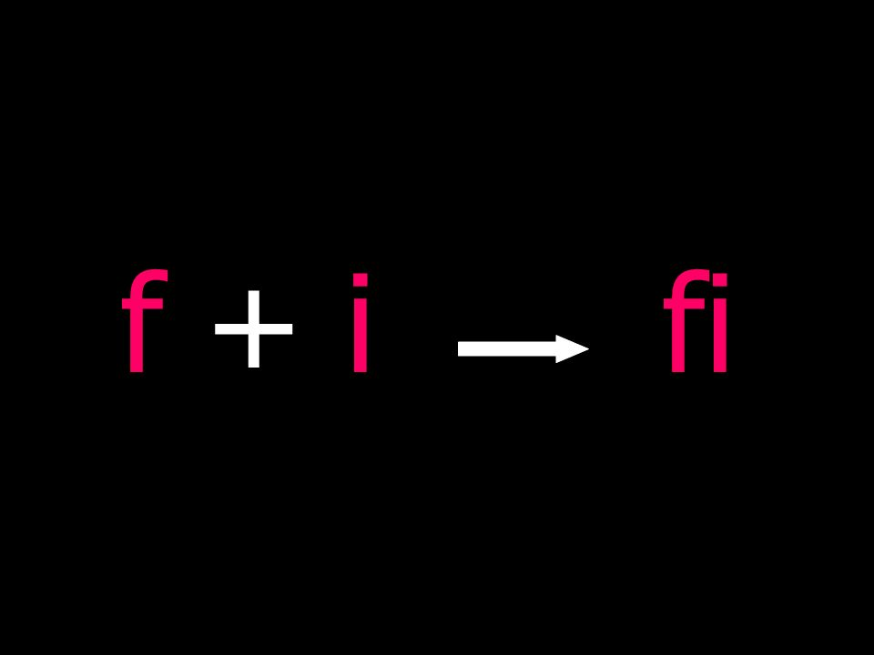 f + if + ifi