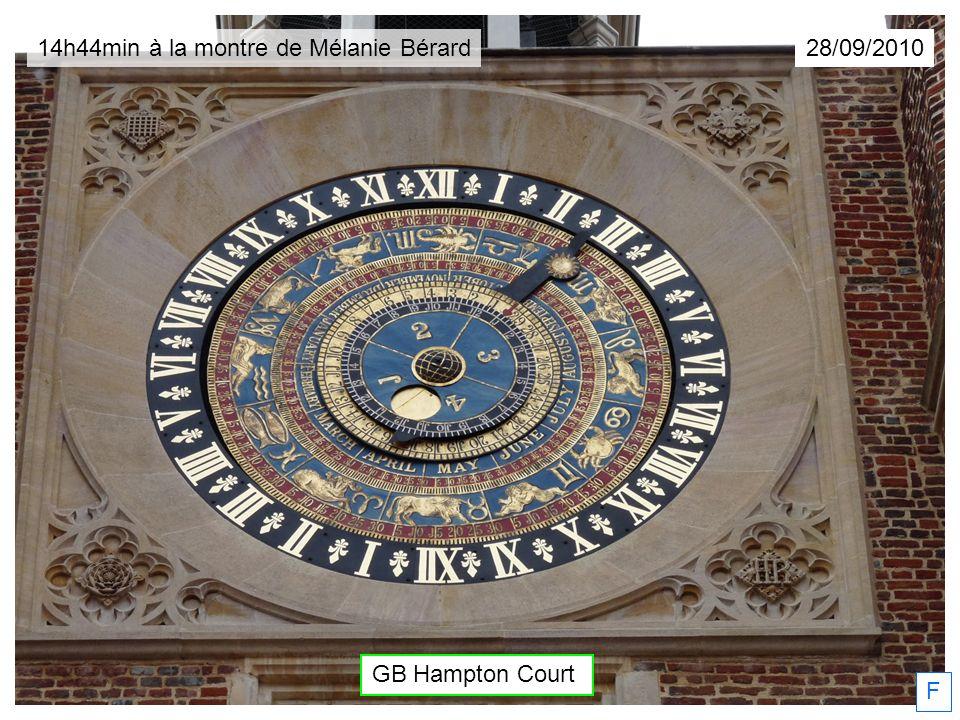 GB Hampton Court F 28/09/201014h44min à la montre de Mélanie Bérard