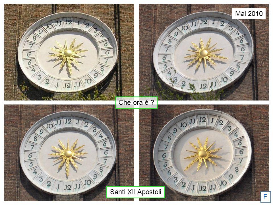 F Santi XII Apostoli Che ora è ? Mai 2010