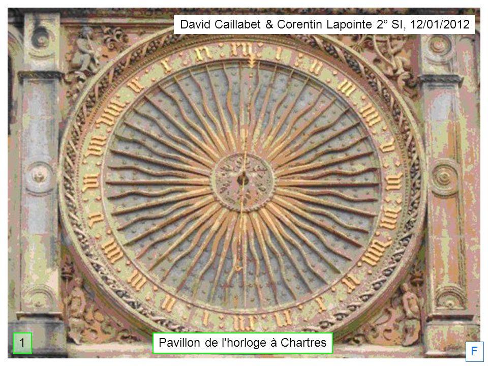 F David Caillabet & Corentin Lapointe 2° SI, 12/01/2012 Pavillon de l'horloge à Chartres1
