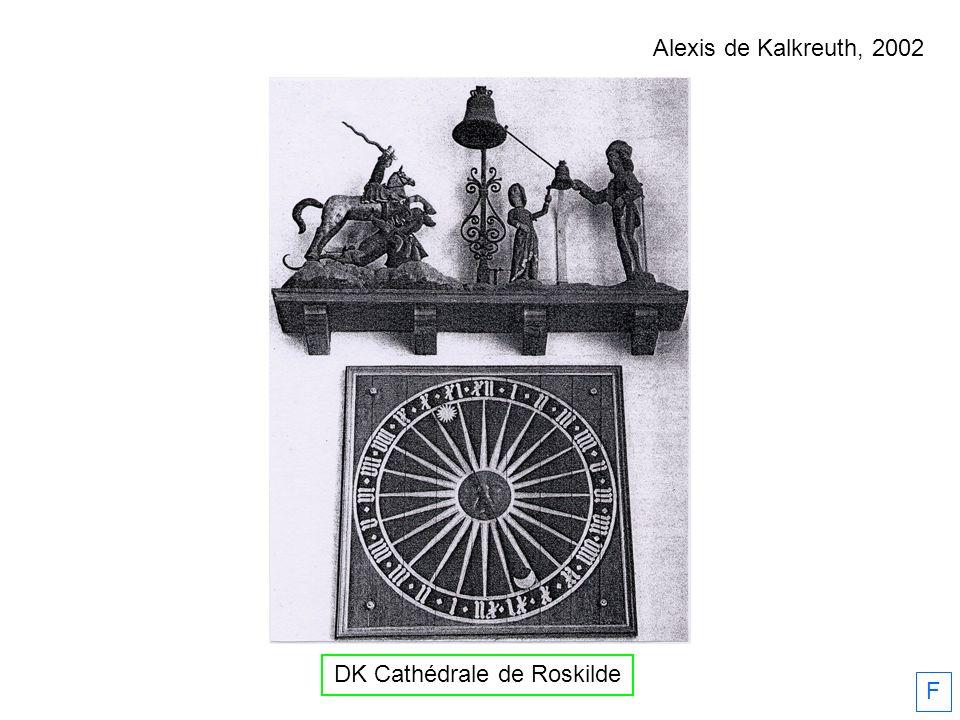F DK Cathédrale de Roskilde Alexis de Kalkreuth, 2002