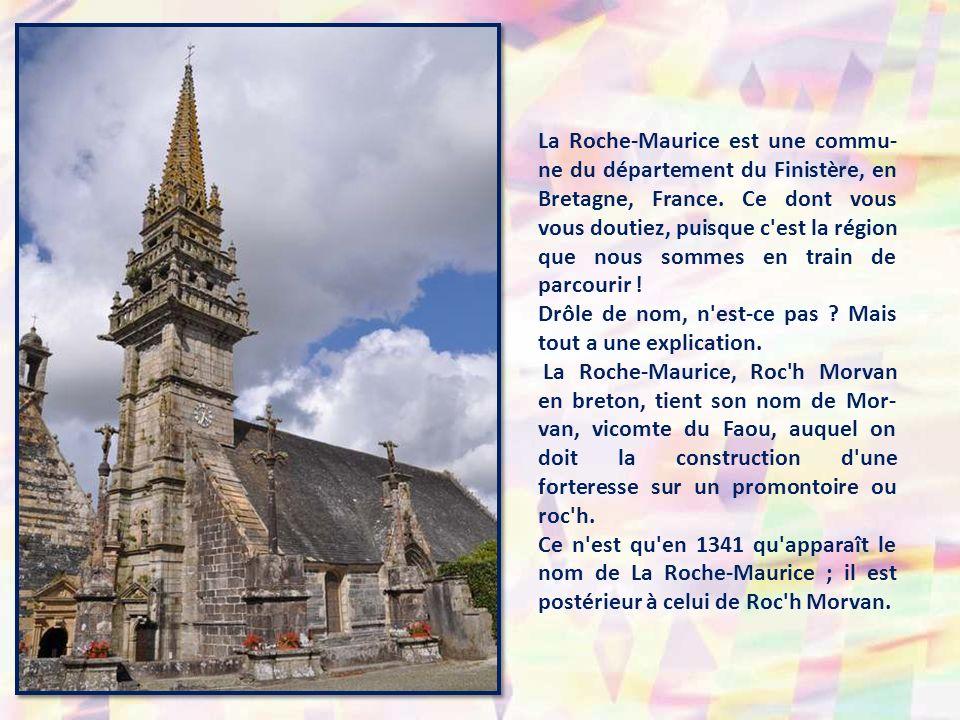 La Roche-Maurice est une commu- ne du département du Finistère, en Bretagne, France.