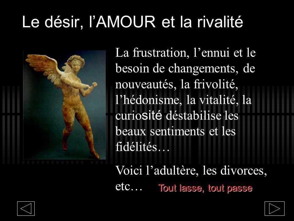 Le désir et lAMOUR « Lamour est enfant de bohême qui na jamais, jamais connu de lois » Bizet Carmen de Bizet