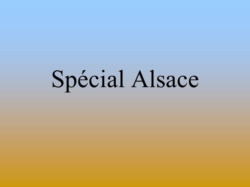 Spécial Alsace