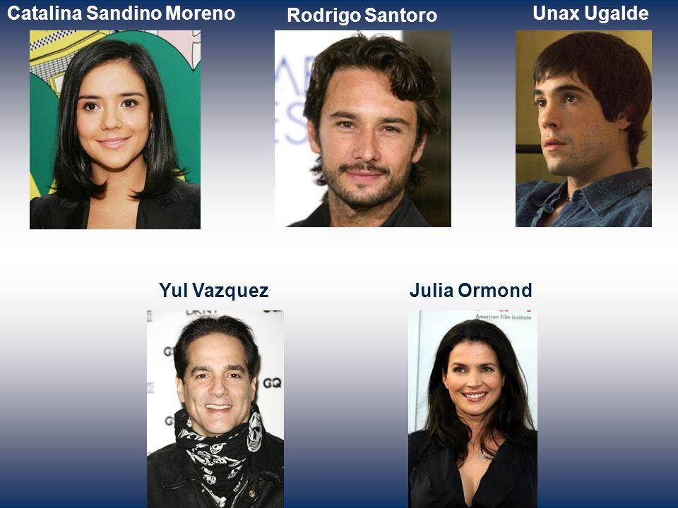 Santiago Cabrera Elvira MinguezJorge Perugorria Edgar Ramirez Victor RasukArmando Riesco