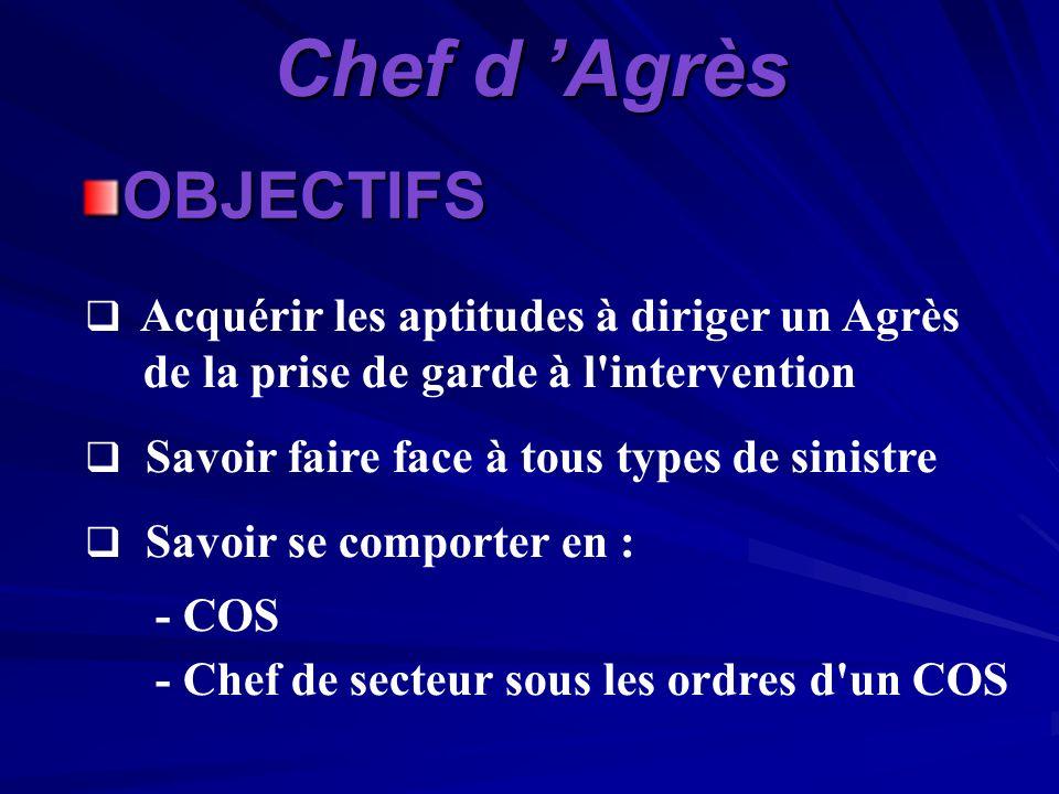 GESTION OP É RATIONNELLE DE COMMANDEMENT Chef dAgrès SDIS 85 – 1/02/06 Cne Patricia BERNARDEAU