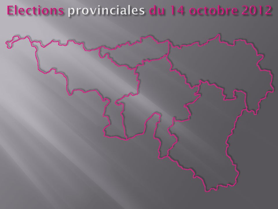 District de Ciney André PIÉRARD Chef de file dans le district de Ciney Président des FDF de la province de Namur Conseiller provincial