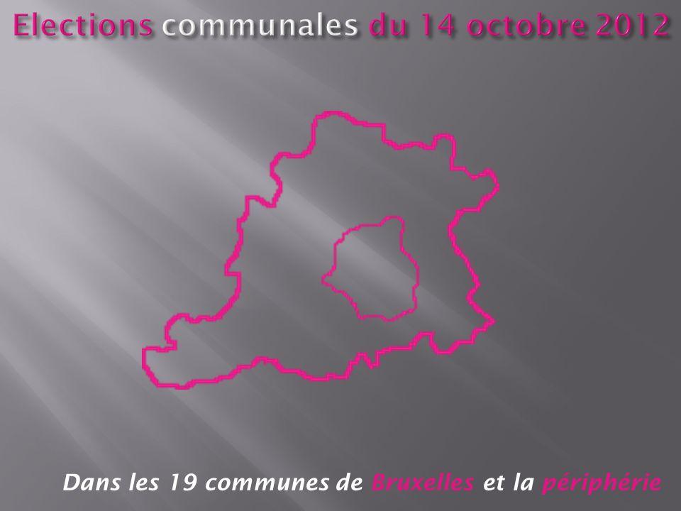 Dans les 19 communes de Bruxelles et la périphérie