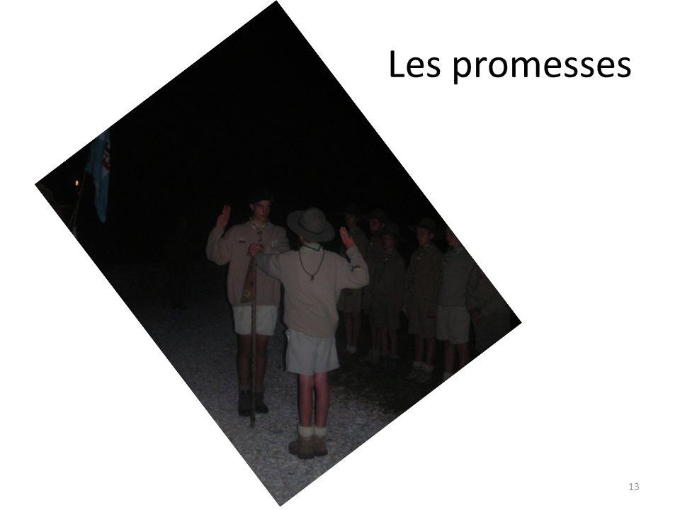 Les promesses 13
