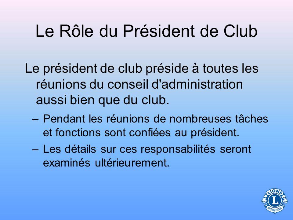 Qui sont les membres du conseil d'administration ? Le conseil d'administration comprend les personnes suivantes : et tous les autres directeurs élus c