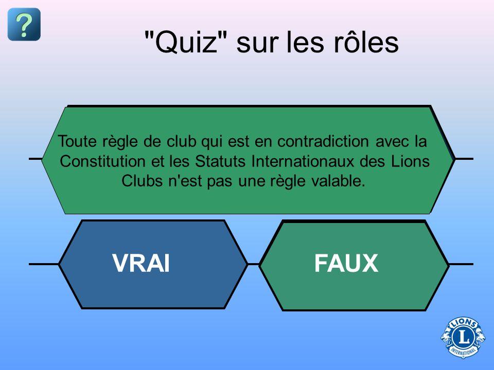 Le club Le grand public La constitution et les statuts internationaux Le conseil d'administration La constitution et les statuts de club