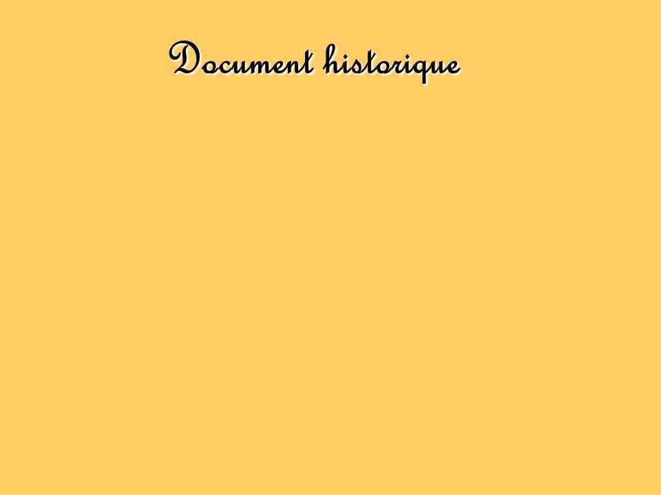 Document historique