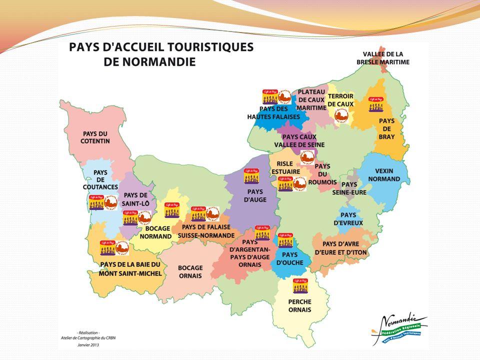 « LAssiette de Pays » en Normandie 1.Evolution de la charte de qualité, du nom, du logo et nouvelle charte graphique 2.Mise en œuvre du nouveau plan de communication