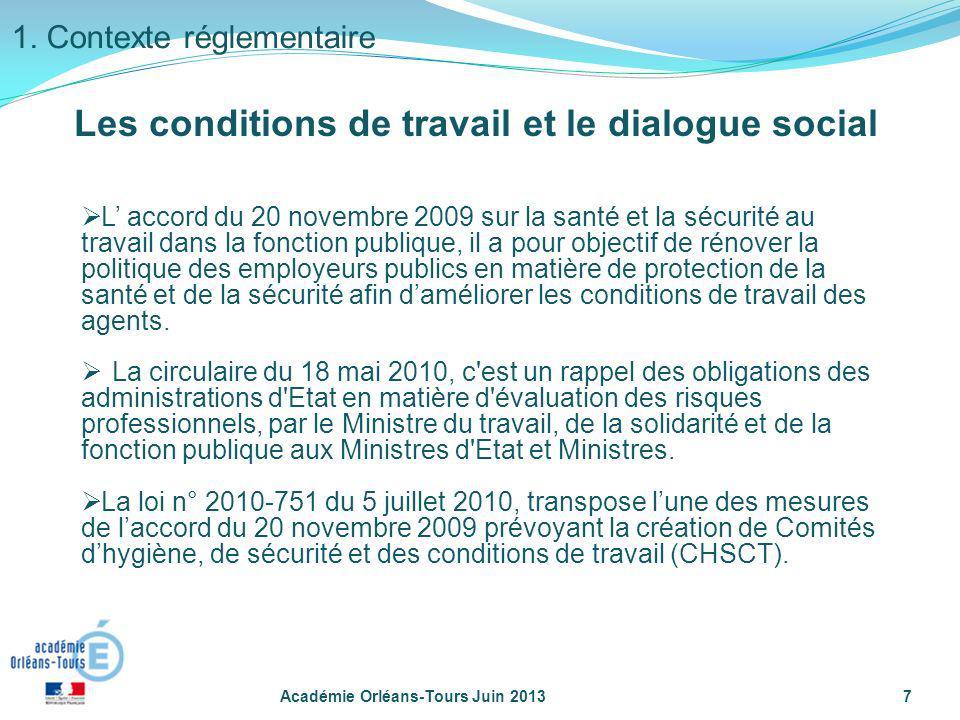 L accord du 20 novembre 2009 sur la santé et la sécurité au travail dans la fonction publique, il a pour objectif de rénover la politique des employeu