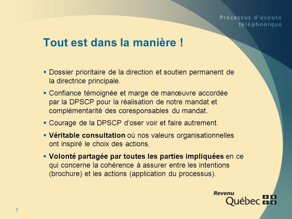 8 Merci de votre attention. Marie-Josée Noël, CGA Chargée de projet Revenu Québec 450 972-2342