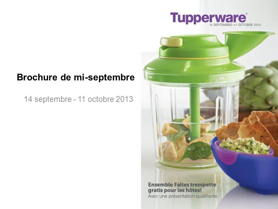 Pour les consommateurs 14 septembre - 11 octobre 2013