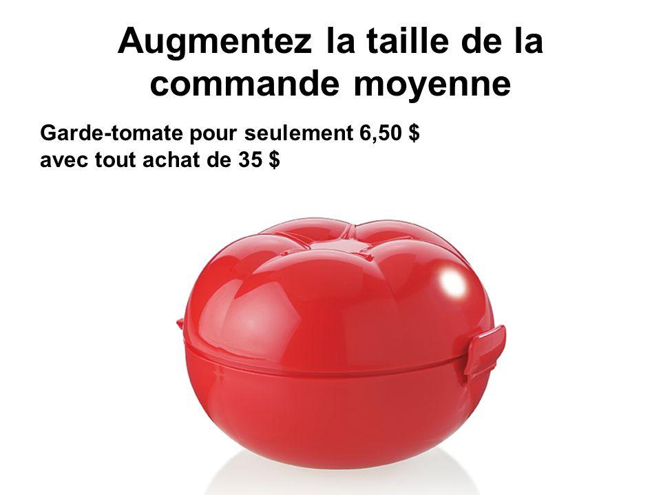 Augmentez la taille de la commande moyenne Garde-tomate pour seulement 6,50 $ avec tout achat de 35 $