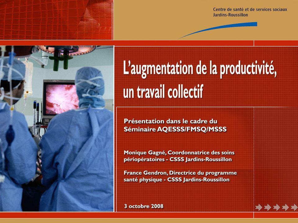 Portrait du CSSS Jardins-Roussillon Situation avant le mécanisme daccès Introduction du mécanisme daccès Révision de notre organisation du travail Défis pour 2008-2009