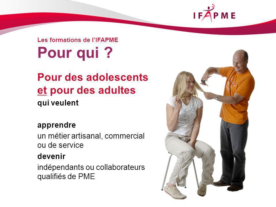 Merci pour votre attention www.ifapme.be