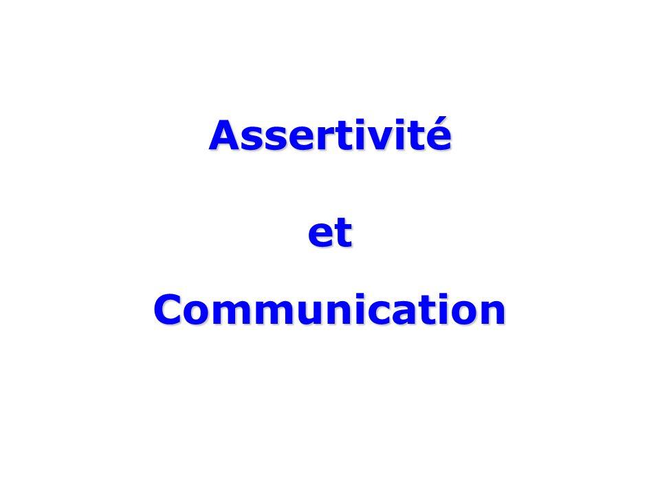Assertivité et Communication