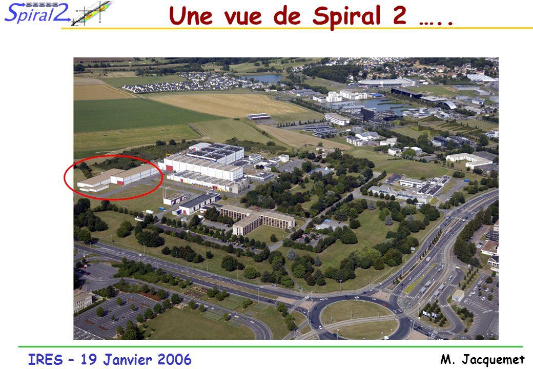 IRES – 19 Janvier 2006 M. Jacquemet 9 10 11 12 13 Schéma de Spiral 2