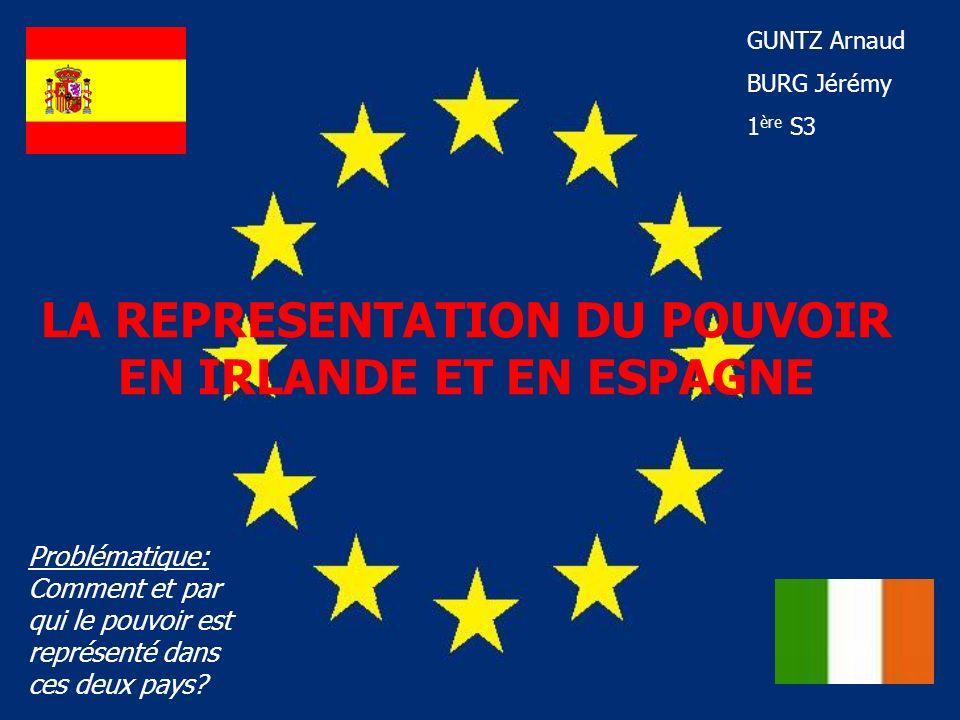1- Le système politique: A) LEspagne: LEspagne est devenue une monarchie constitutionnelle à la mort du général Francisco Franco (1975), après trente-six ans de dictature franquiste (1939-1975).